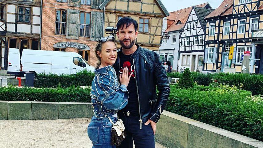 Schlagerstar Michael Wendler und seine Frau Laura Müller