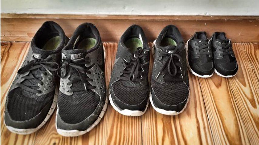 Mini-Schuhe: Ließ Laura Osswald so die Baby-Bombe platzen?