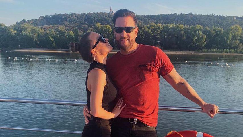 Laura und Michael Wendler im September 2020