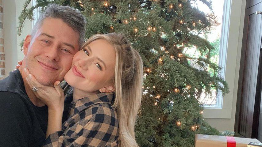 Lauren Burnham mit ihrem Mann Arie Luyendyk