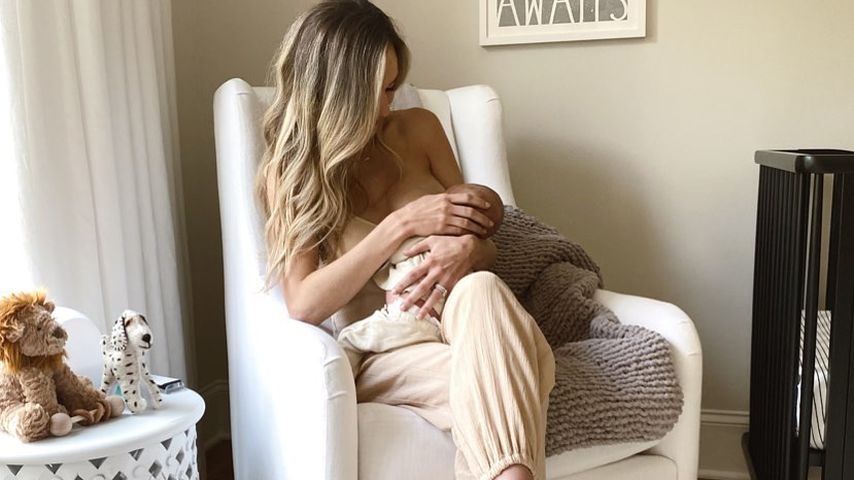 """""""Schmerzhaft"""": Lauren Bushnell über das Stillen ihres Sohnes"""