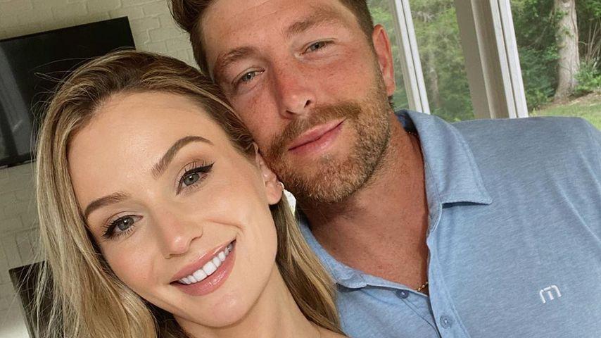 Lauren Bushnell und Chris Lane im Juli 2020