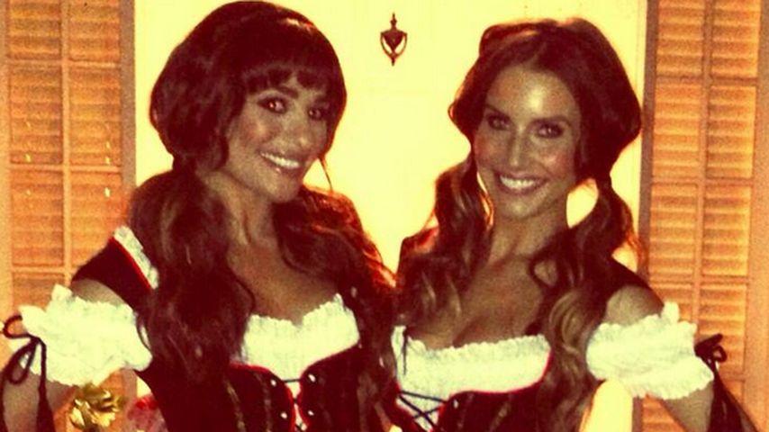 Lea Michele zeigt sich im sexy Halloween-Kostüm