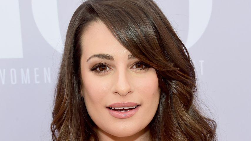 Mit Glimmstängel: Wie sieht denn Lea Michele aus?