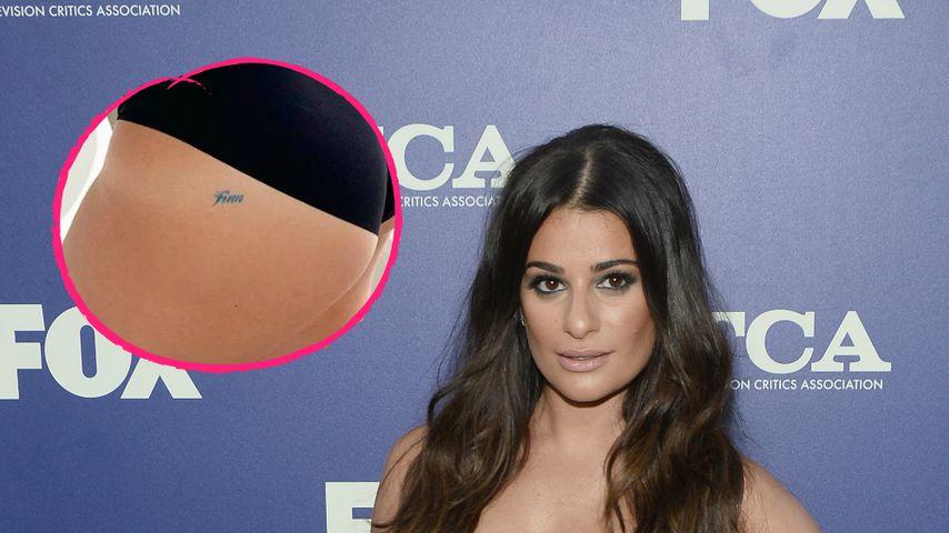 Für Ex-Liebe Cory (†31) : Lea Michele zeigt Tribut-Tattoo