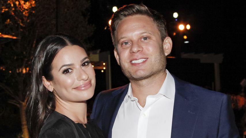 Lea Michele und ihr Mann Zandy Reich bei einer Preisverleihung in L.A. im Oktober 2019