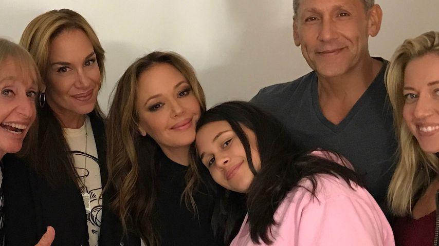 Leah Remini mit ihrer Familie