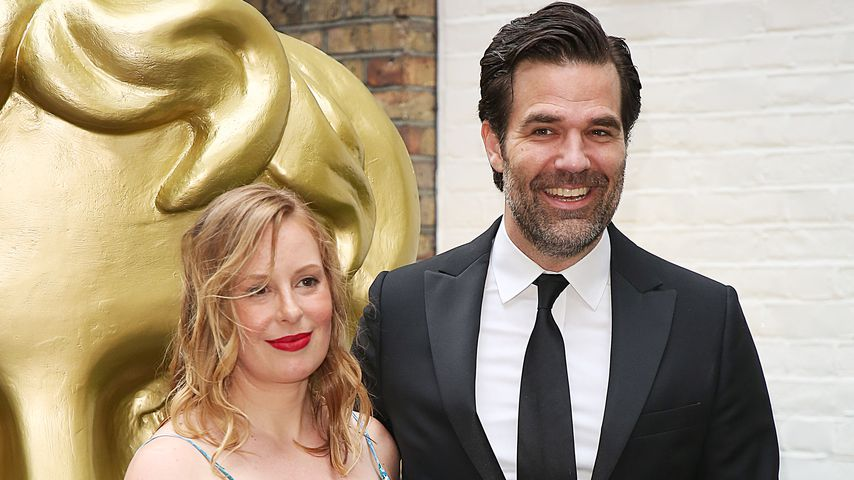 Leah und Rob Delaney bei den BAFTA Television Craft Awards 2018