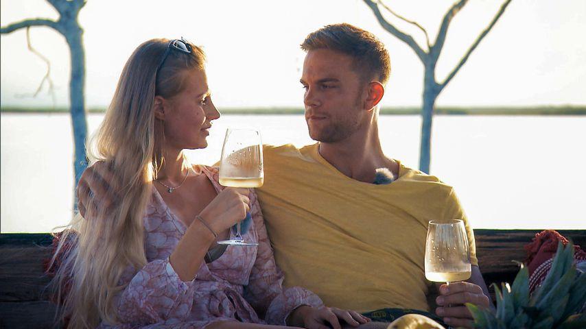 "Leah Marie Kruse und Sebastian Preuss in Folge sechs von ""Der Bachelor"" 2020"
