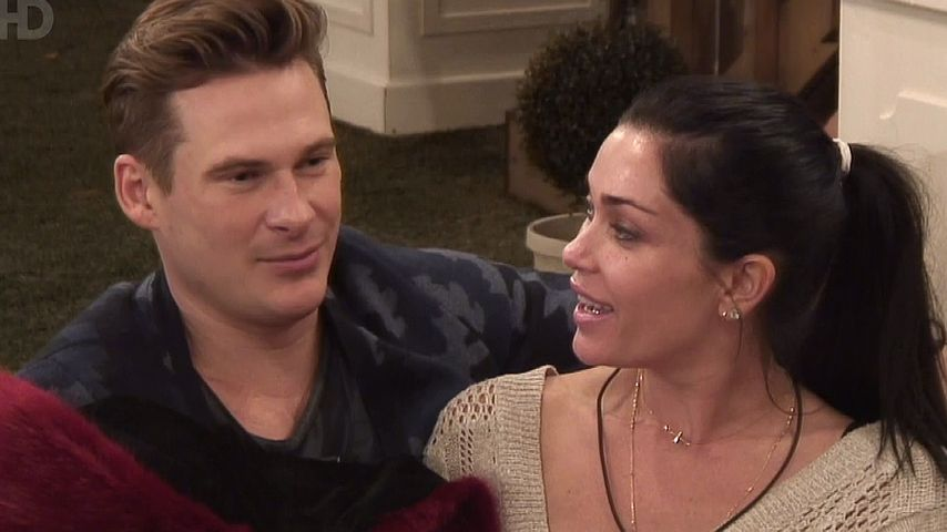 "Lee Ryan und Jasmine Waltz bei ""Celebrity Big Brother 2014"""