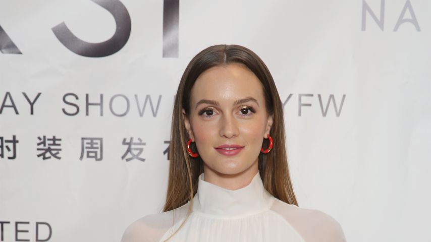 Leighton Meester während der New Yorker Fashion Week