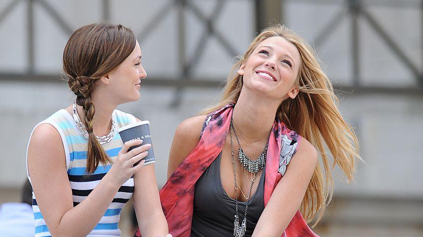 """Leighton Meester und Blake Lively in """"Gossip Girl"""""""