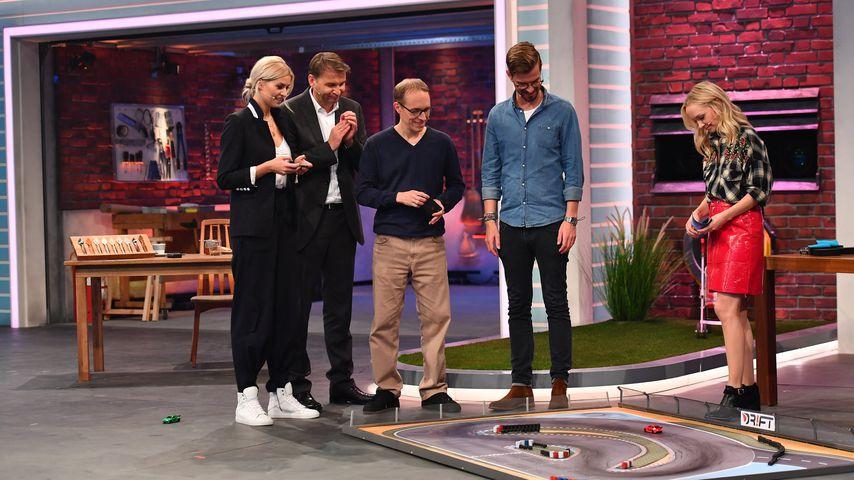 Lena Gercke, Hans Jürgen Moog, DR!FT-Erfinder Martin Müller, Joko Winterscheidt & Janin Ullmann