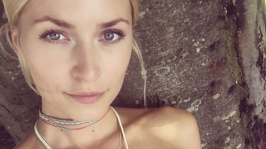 Lena Gercke im Urlaub