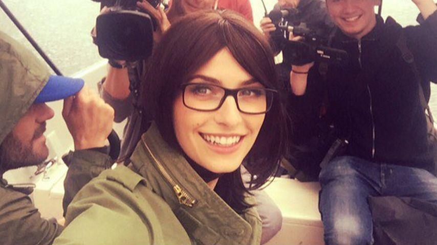 Style-Chamäleon: Lena Gercke ist plötzlich brünett