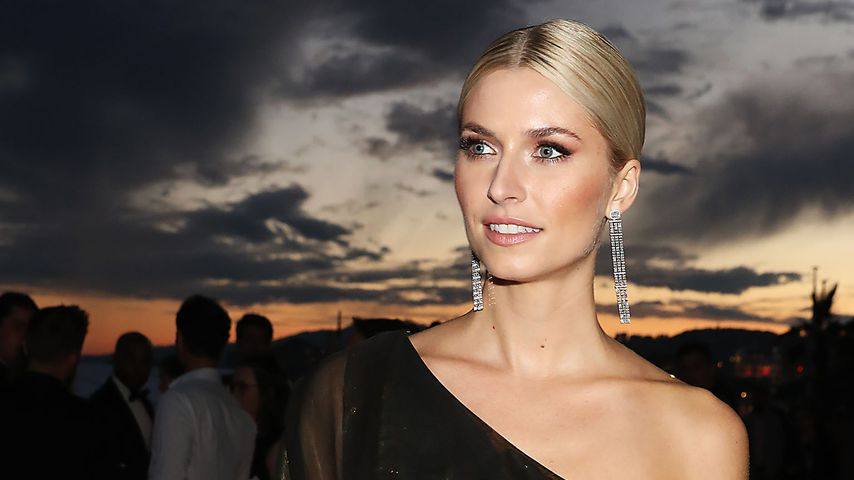 Model Lena Gercke bei der Magnum-Party in Cannes im Mai 2018