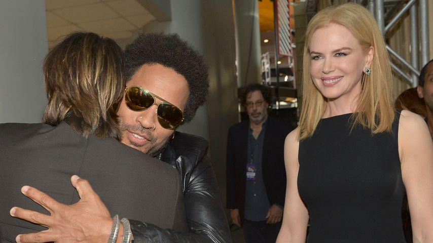 Lenny Kravitz und Nicole Kidman, Juni, 2013
