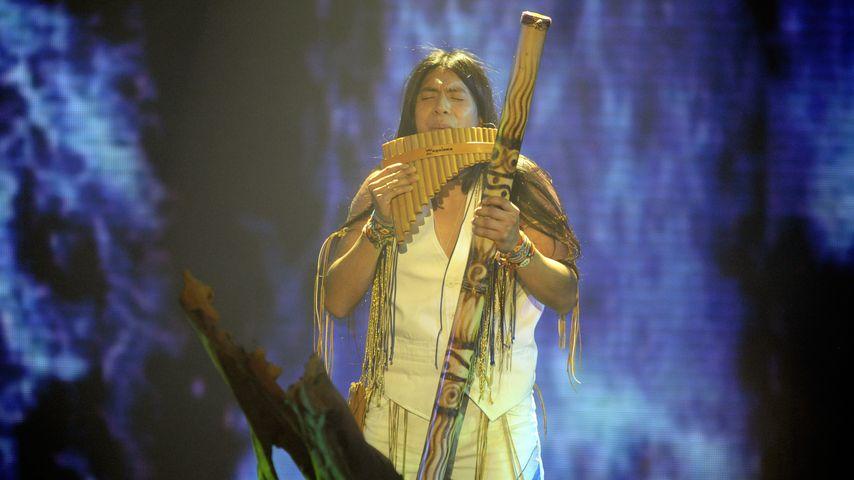 """Leo Rojas beim """"Das Supertalent""""-Finale 2011"""