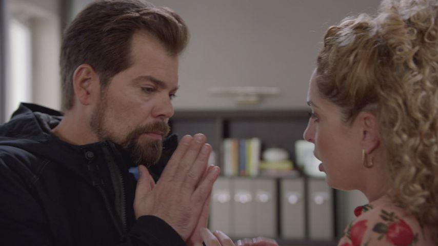 Leon (Daniel Fehlow) und Nina (Maria Wedig)