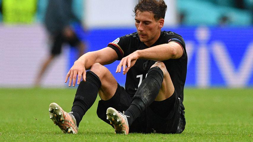 Leon Goretzka nach dem EM-Spiel Deutschland gegen England, Juni 2021