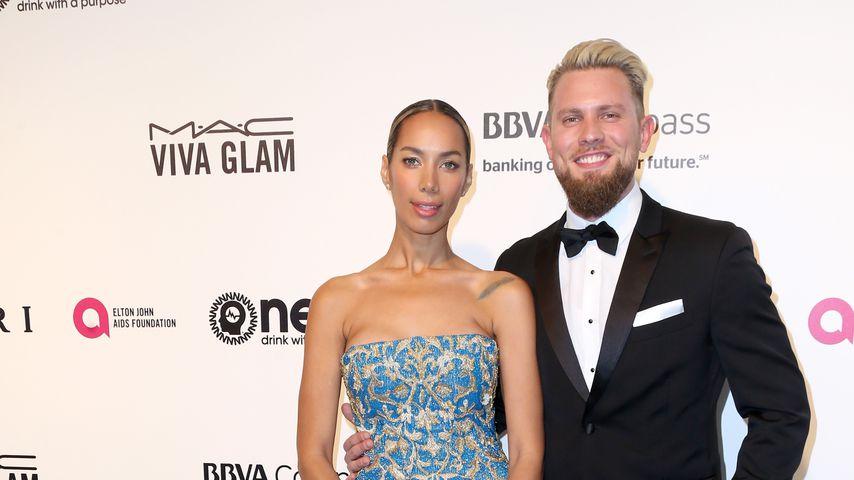 Leona Lewis und Dennis Jauch bei einer Oscar Party 2017