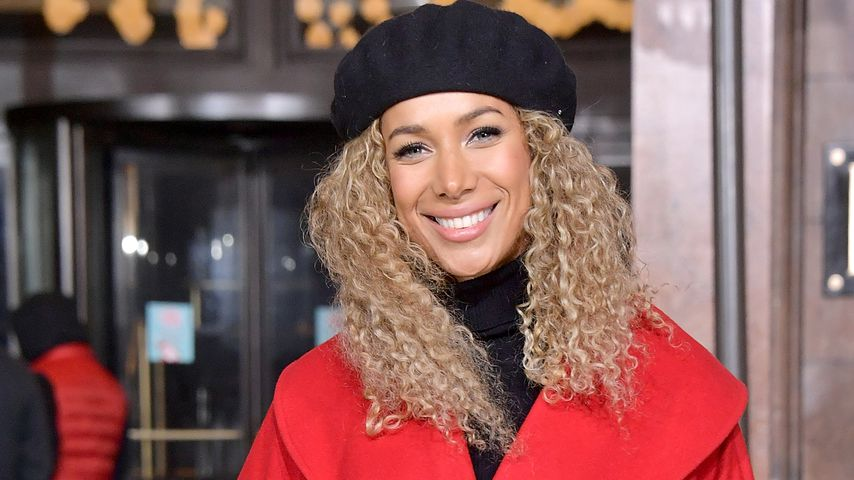Leona Lewis bei der Thanksgiving Parade in New York