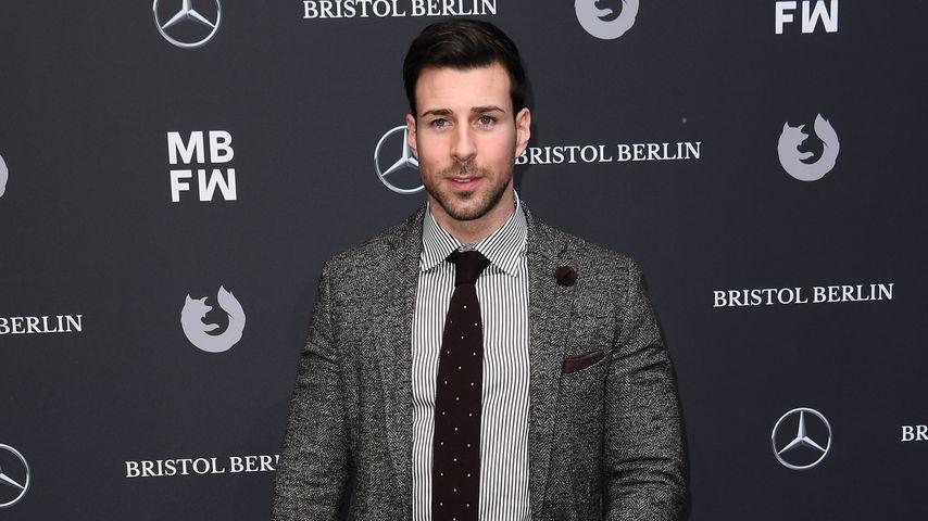 Leonard Freier bei der Berlin Fashion Week