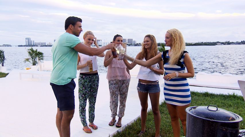"""Von wegen Zoff: So ausgelassen feiern die """"Bachelor""""-Girls!"""