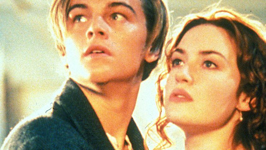 Leonardo DiCaprio, Kate Winslet und Titanic