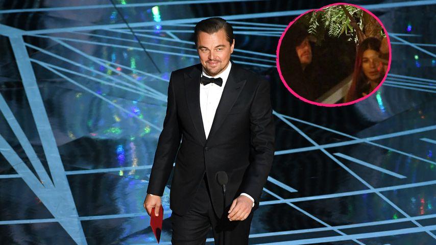 Collage: Leonardo DiCaprio und Camila Morrone