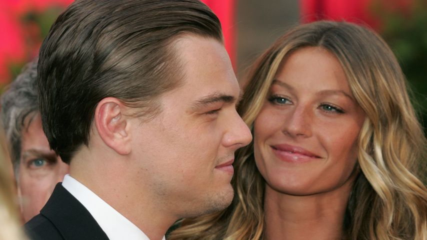 Leonardo DiCaprio und Gisele Bündchen in Los Angeles im Februar 2005