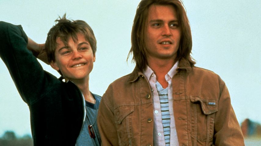"Leonardo DiCaprio und Johnny Depp in ""Gilbert Grape - Irgendwo in Iowa"""