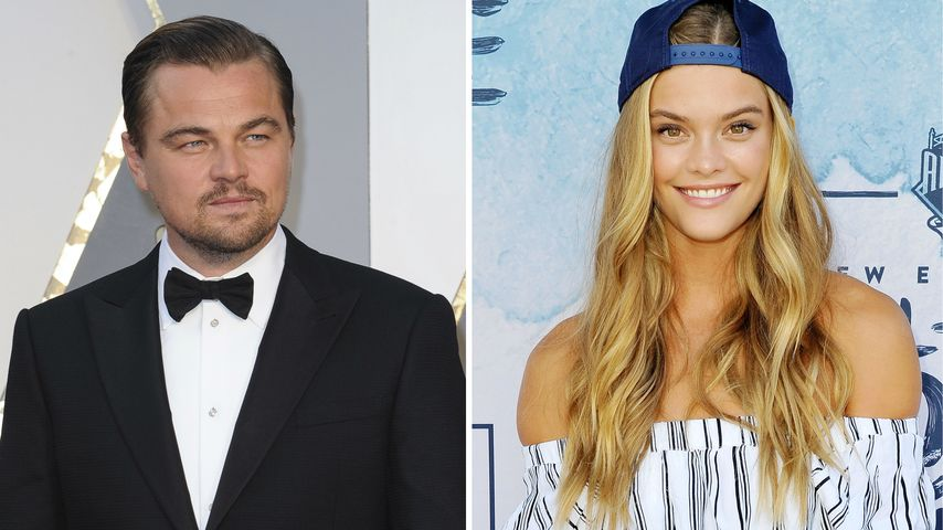 Offiziell! Leo DiCaprio & Nina Agdal knutschen am Strand