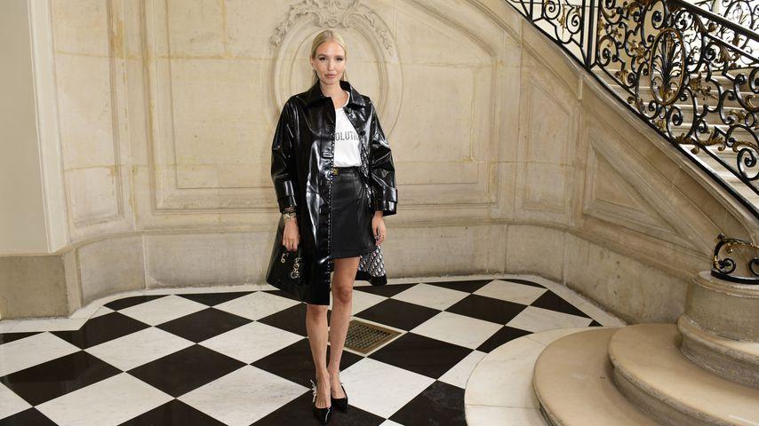 Leonie Hanne bei der Haute-Couture-Show von Christian Dior, Juli 2021