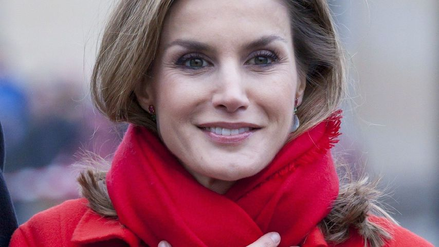 Eiskalt: Königin Letizia bibbert bei Berlin-Besuch