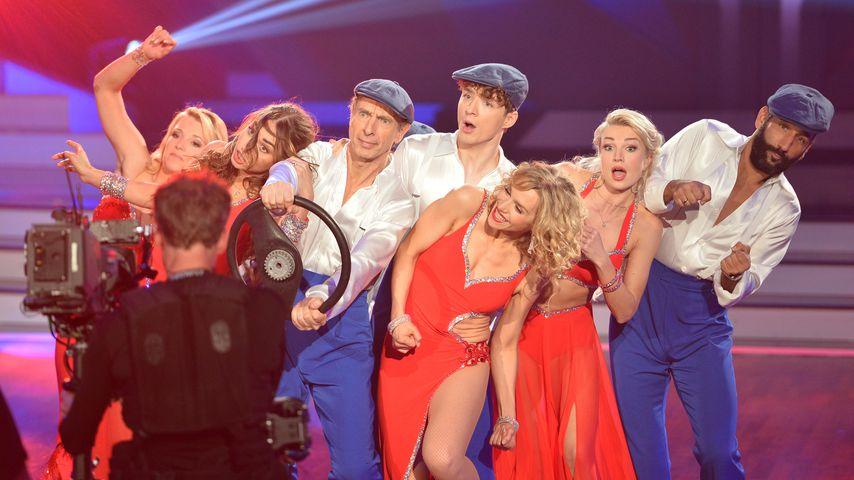 """""""Let's Dance""""-Kandidaten beim Team-Tanz in Show sieben"""