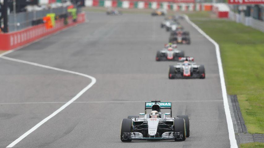 Lewis Hamilton beim Formel-1-Grand Prix in Japan