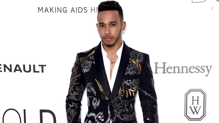 "Lewis Hamilton bei der ""Cinema Against AIDS Gala"" in Cannes"