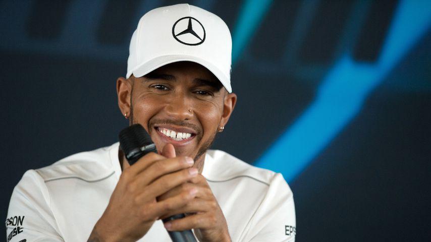 Lewis Hamilton beim F1 Car Launch in Silverstone