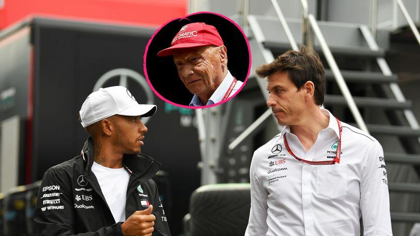 Niki Laudas Tod: Nacht-Telefonat zwischen Hamilton und Wolff