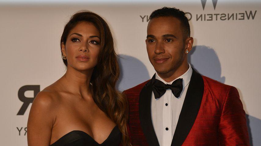 """Nicole Scherzinger und Lewis Hamilton, """"Cannes Film Festival"""" 2014"""