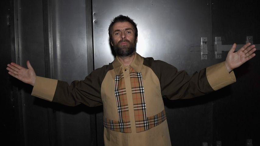Liam Gallagher bei der Fashion Week in London