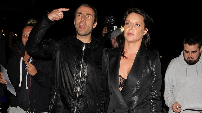 Liam Gallagher und Debbie Gwyther