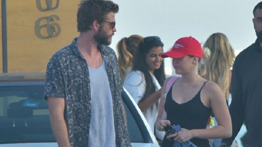 Liam Hemsworth und Miley Cyrus in L.A.