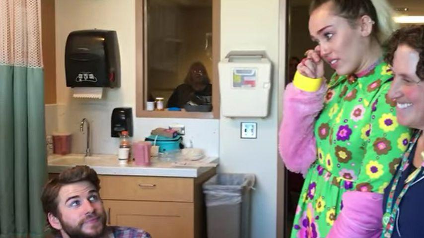Rührend! Krebskranke 8-Jährige bringt Miley Cyrus zum Weinen