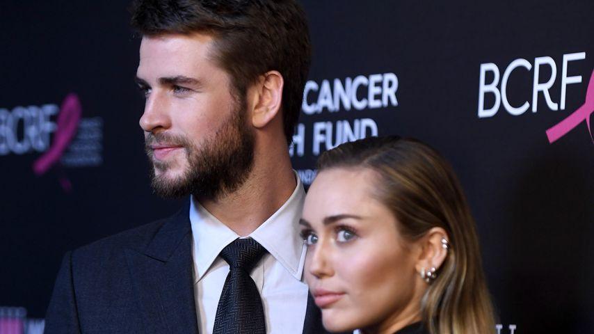 Liam Hemsworth und Miley Cyrus, Februar 2019