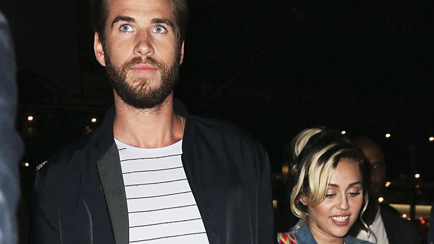 Liam Hemsworth und Miley Cyrus in NYC