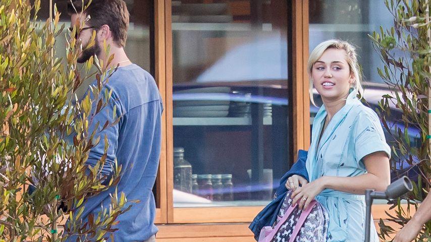 Süßes Date mit Liam: Zeigt Miley Cyrus ihren Verlobungsring?