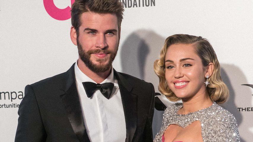 Liam Hemsworth und Miley Cyrus bei einer Veranstaltung in Los Angeles