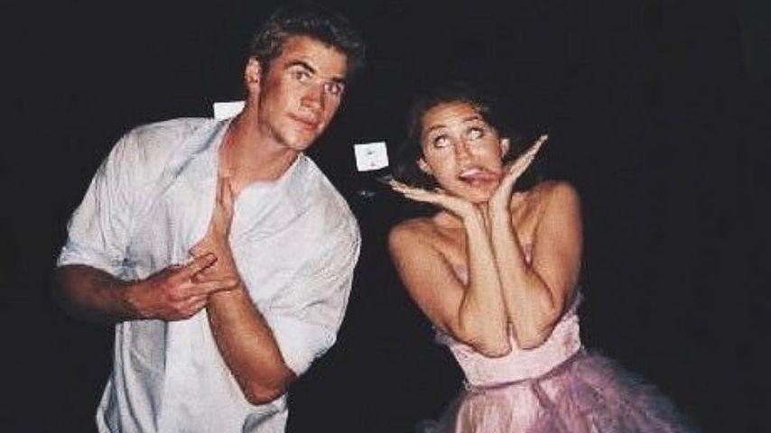 In jungen Jahren: Verrücktes Throwback-Foto von Liam & Miley